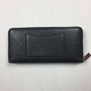 Michael Kors Bags - Michael Kors Mercer Zip Around Jet Wallet
